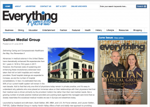Gallian Medical in Everything Knoxville Magazine